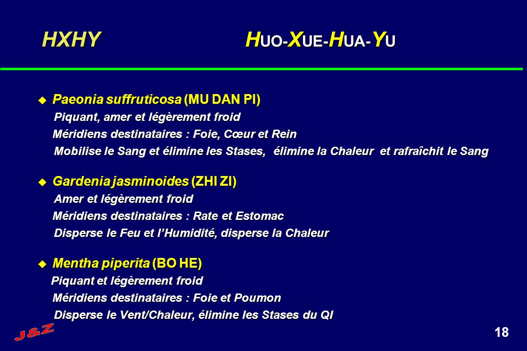 HXHY HUO-XUE-HUA-YU Paeonia suffruticosa (MU DAN PI)