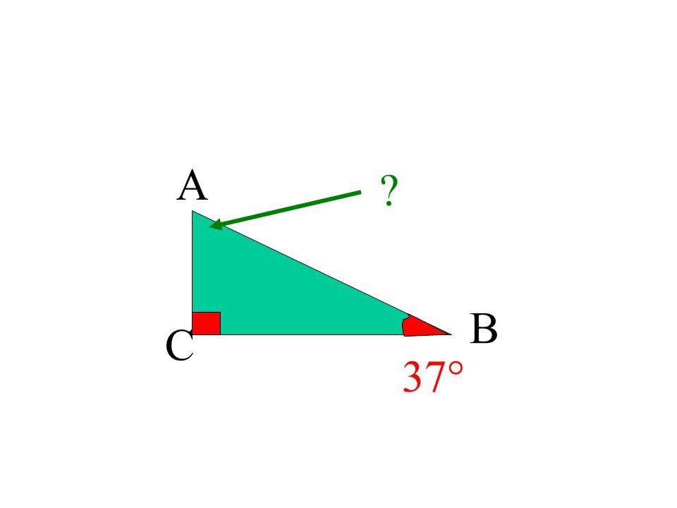 A B C 37°