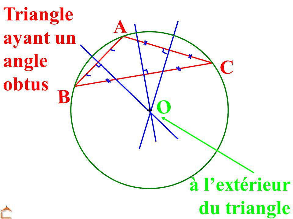 Triangle ayant un angle obtus
