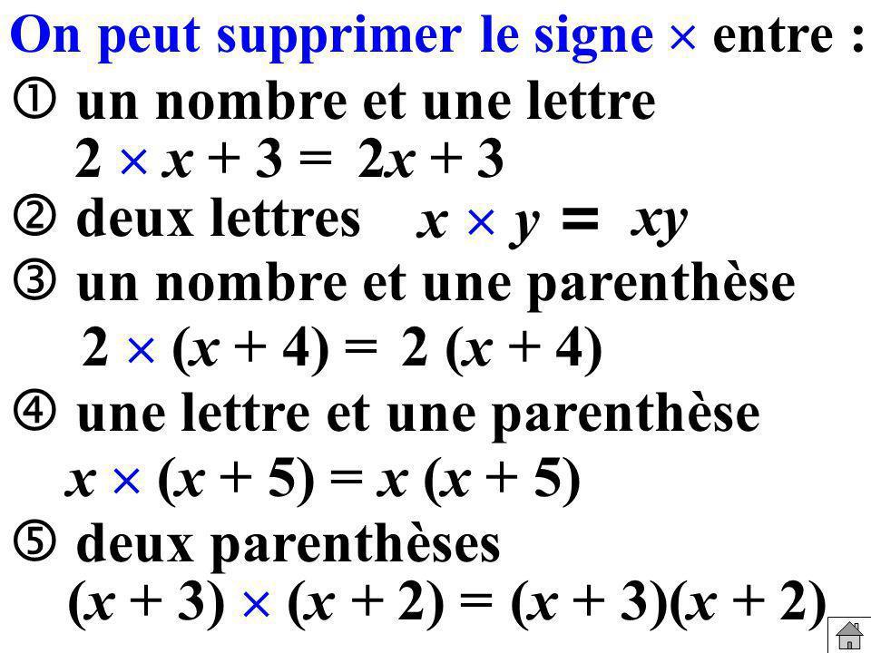 2x + 3 xy 2 (x + 4) x (x + 5) (x + 3)(x + 2)