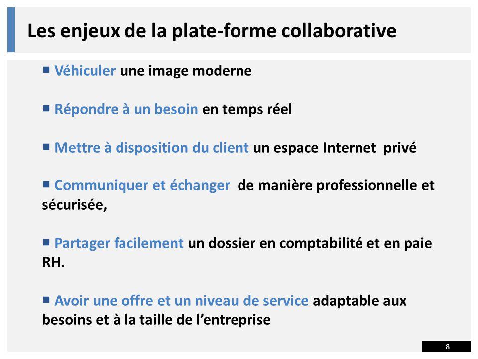 Les enjeux de la plate-forme collaborative