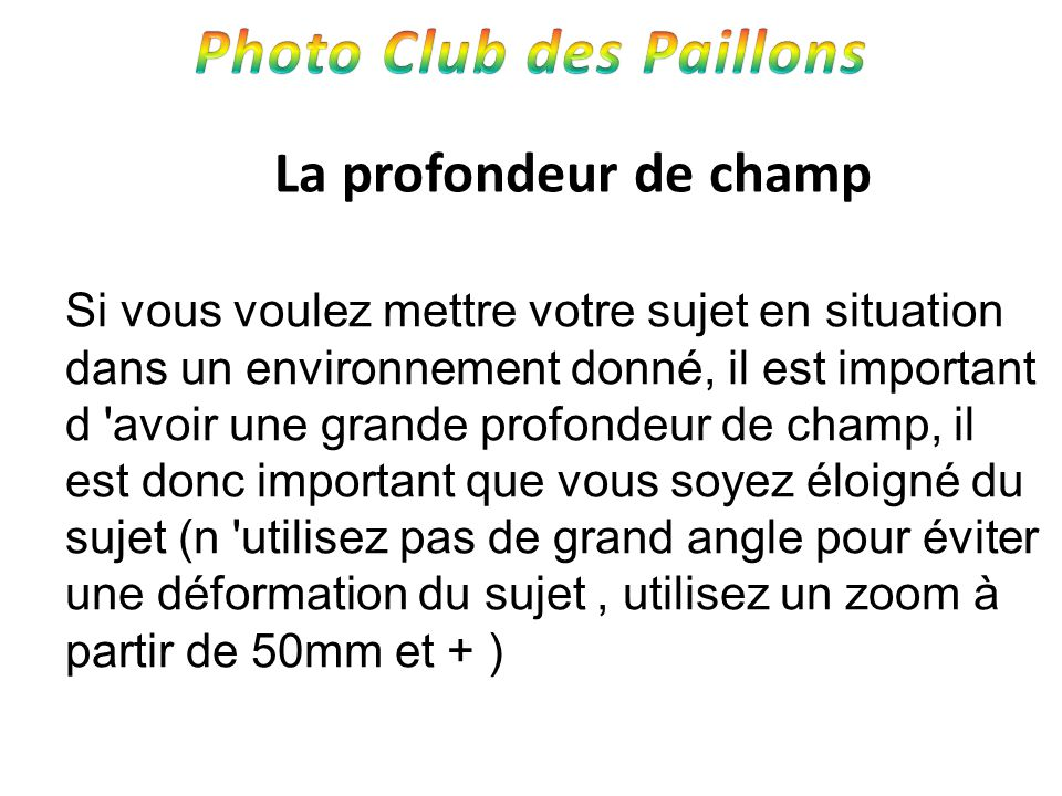Photo Club des Paillons