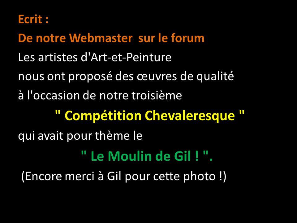 Compétition Chevaleresque