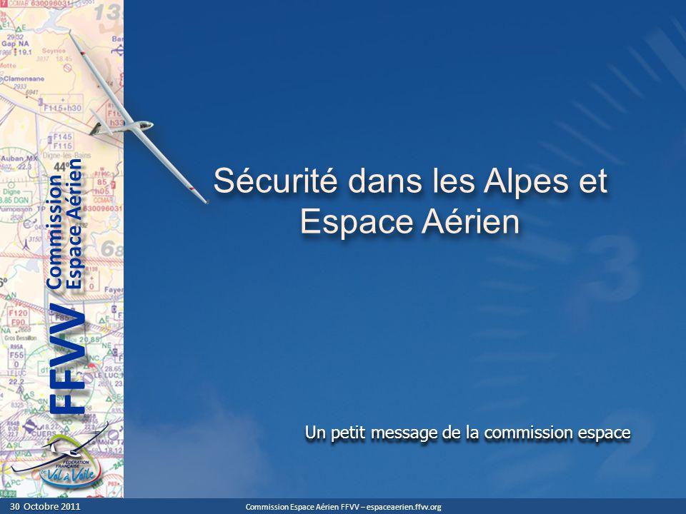 Sécurité dans les Alpes et Espace Aérien
