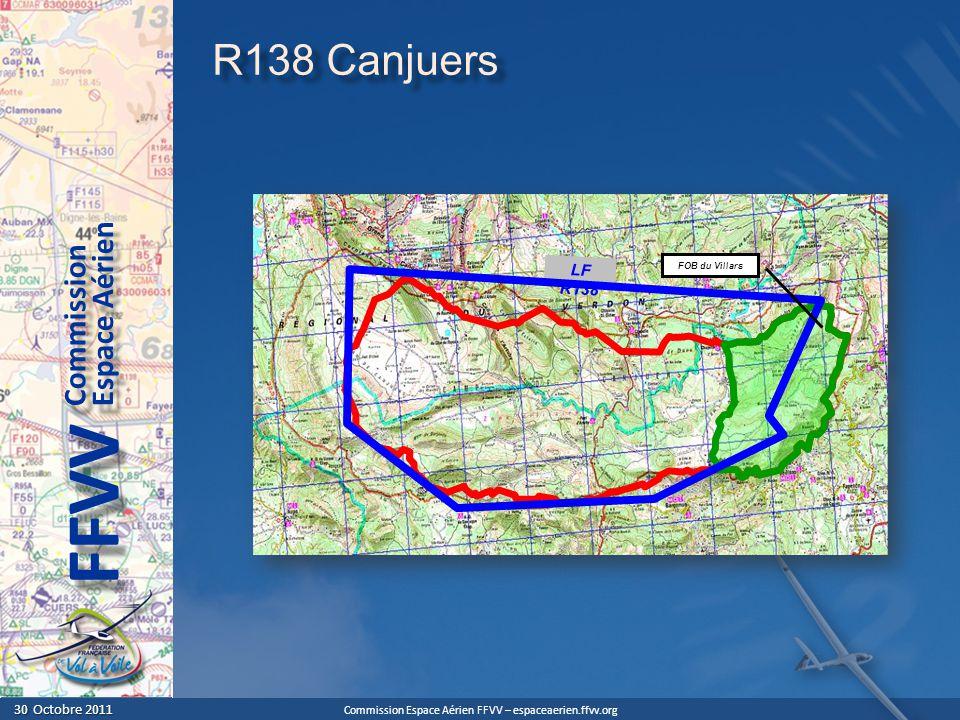 R138 Canjuers LF R138. FOB du Villars.