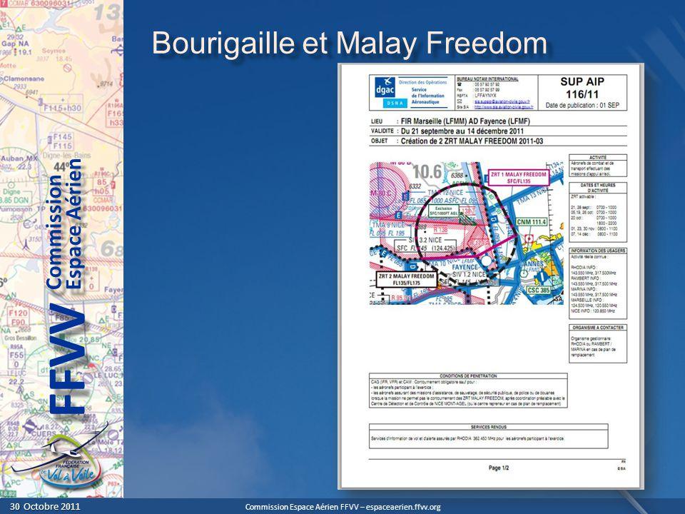Bourigaille et Malay Freedom