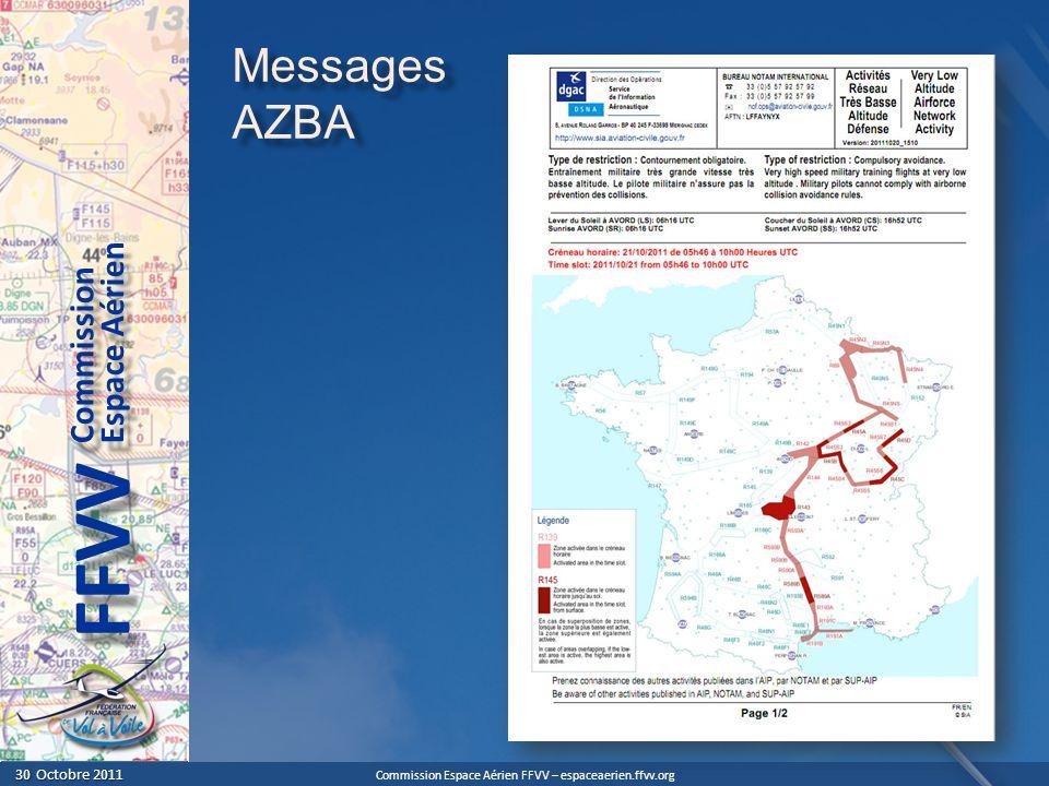 Messages AZBA