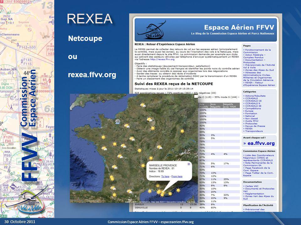 REXEA Netcoupe ou rexea.ffvv.org