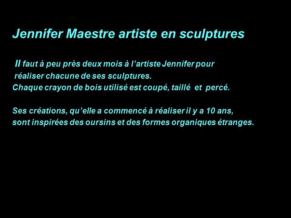 Jennifer Maestre artiste en sculptures