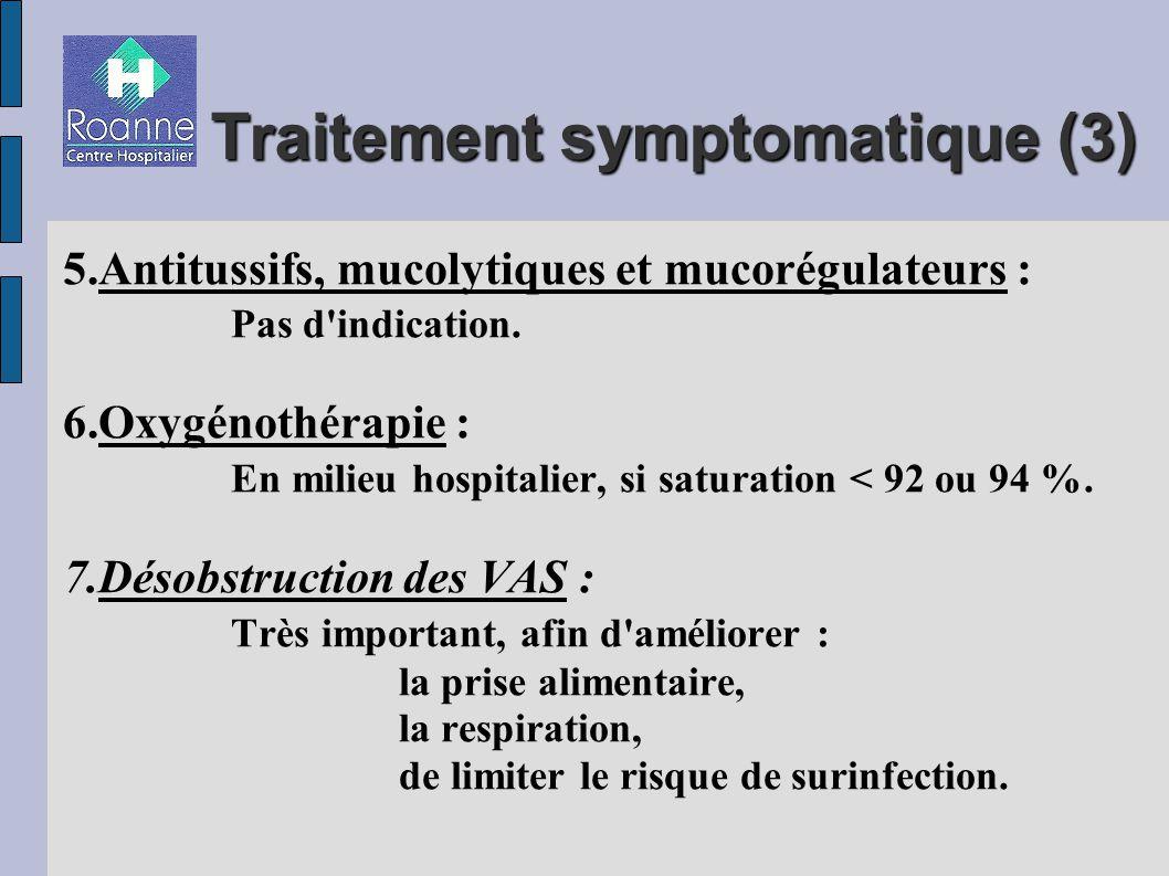 Traitement symptomatique (3)