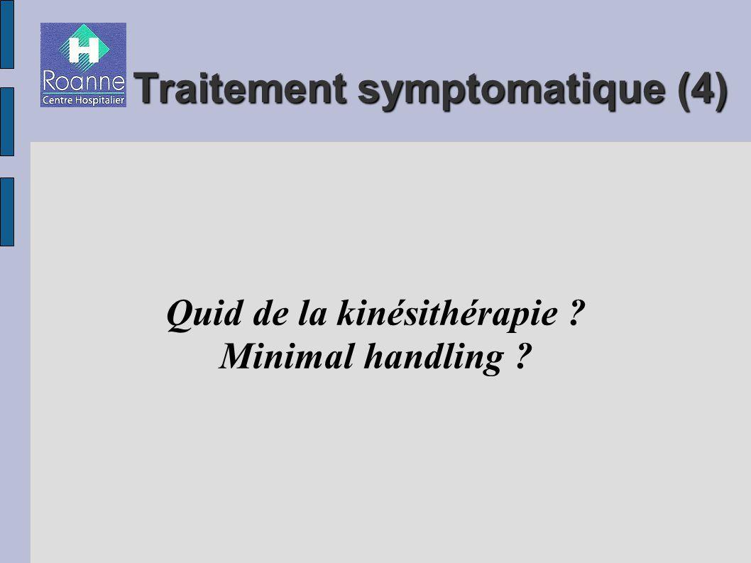 Traitement symptomatique (4)