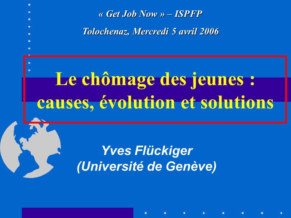 Le chômage des jeunes : causes, évolution et solutions