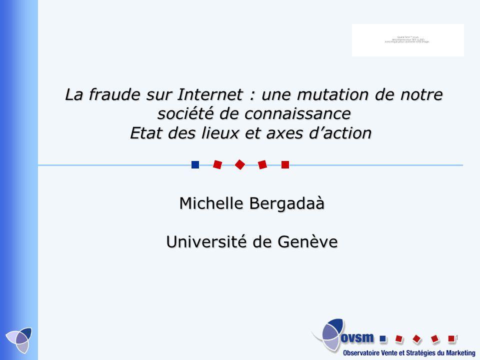 Michelle Bergadaà Université de Genève