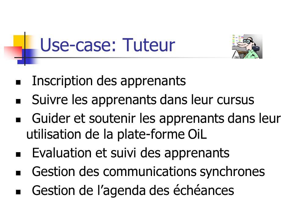 Use-case: Tuteur Inscription des apprenants