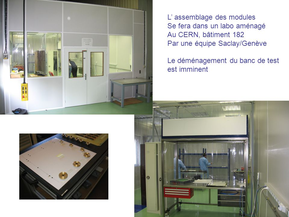 L' assemblage des modules