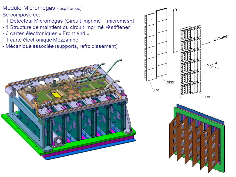 Module Micromegas (resp Europe)