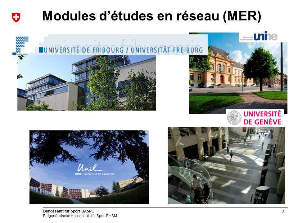 Modules d'études en réseau (MER)