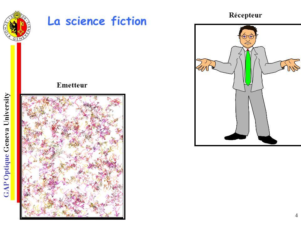 Récepteur La science fiction Emetteur o