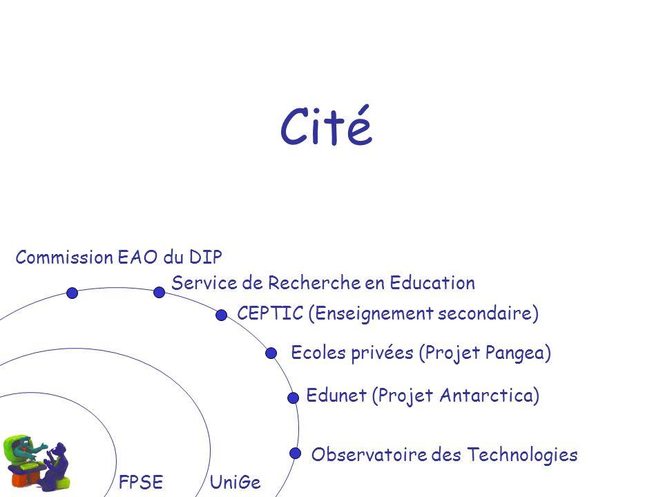 Cité Commission EAO du DIP Service de Recherche en Education