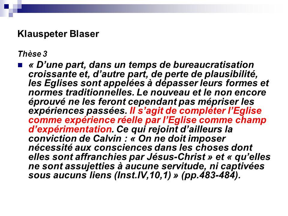 Klauspeter Blaser Thèse 3.