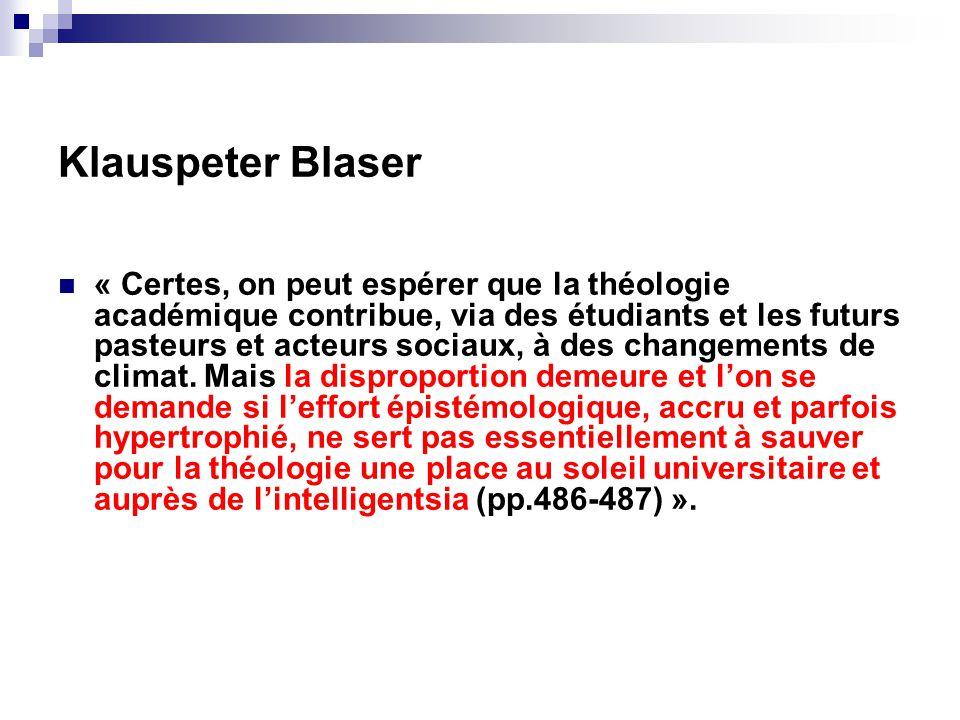Klauspeter Blaser