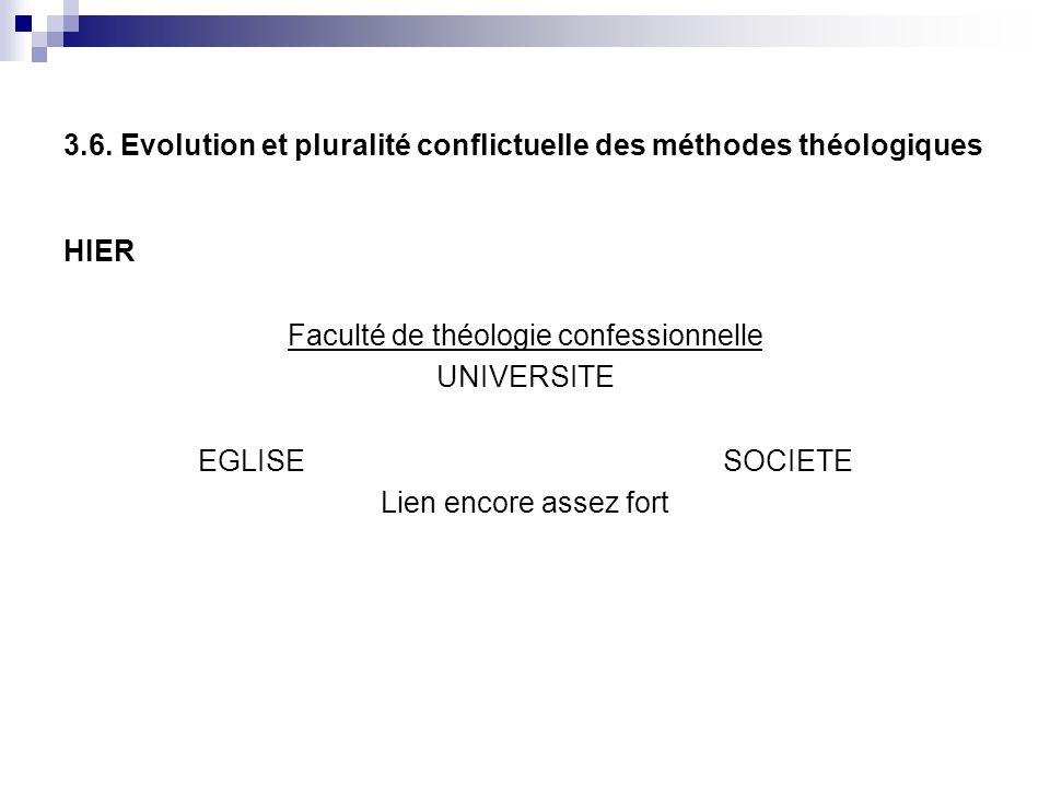 3.6. Evolution et pluralité conflictuelle des méthodes théologiques