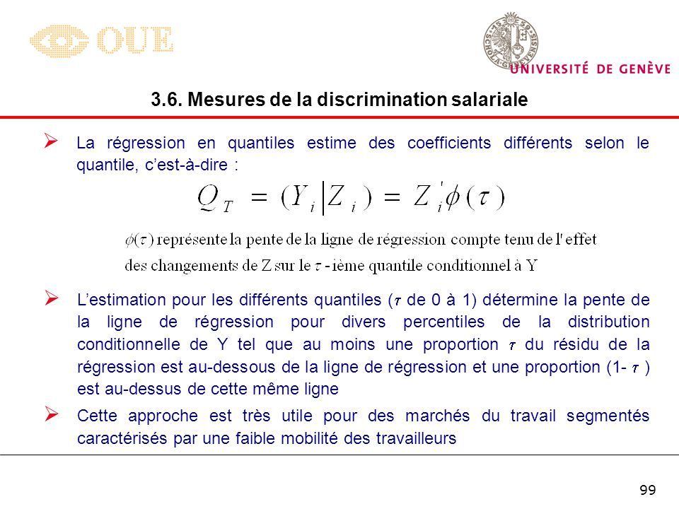 3.6. Mesures de la discrimination salariale