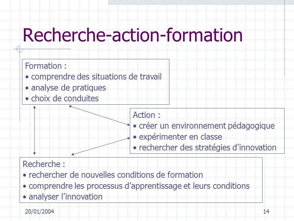 Recherche-action-formation