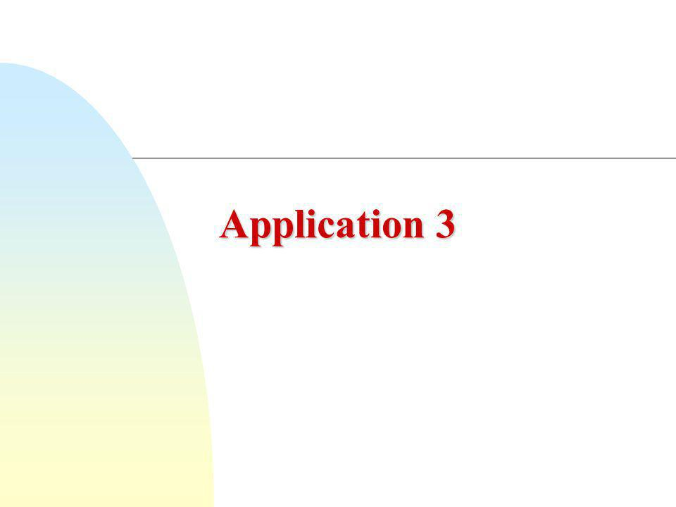 Application 3