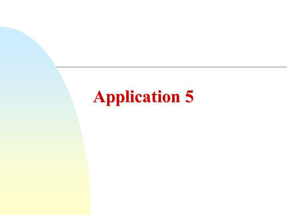 Application 5