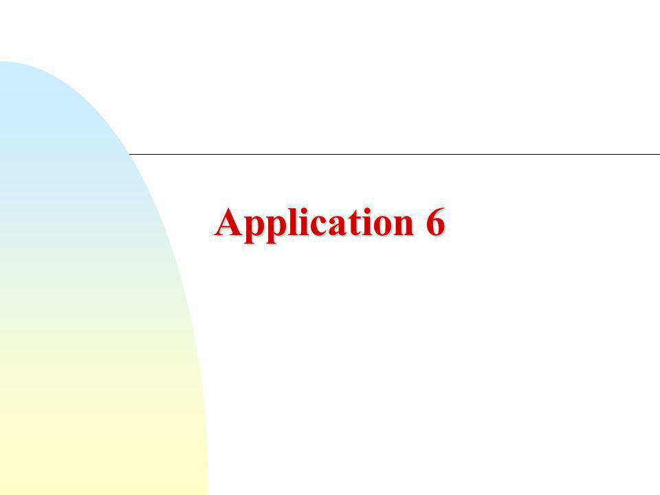 Application 6
