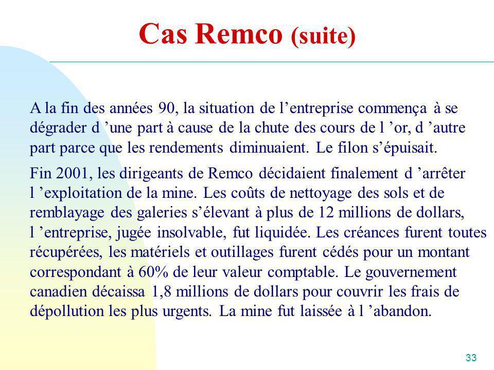 Cas Remco (suite)
