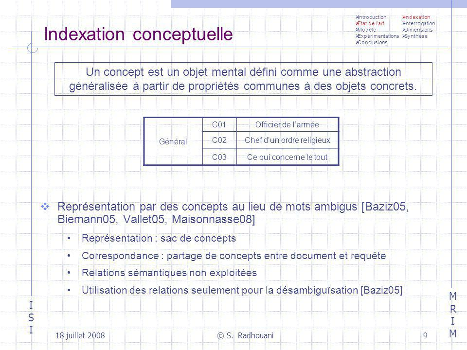 Indexation conceptuelle