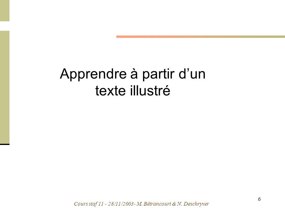 Apprendre à partir d'un texte illustré