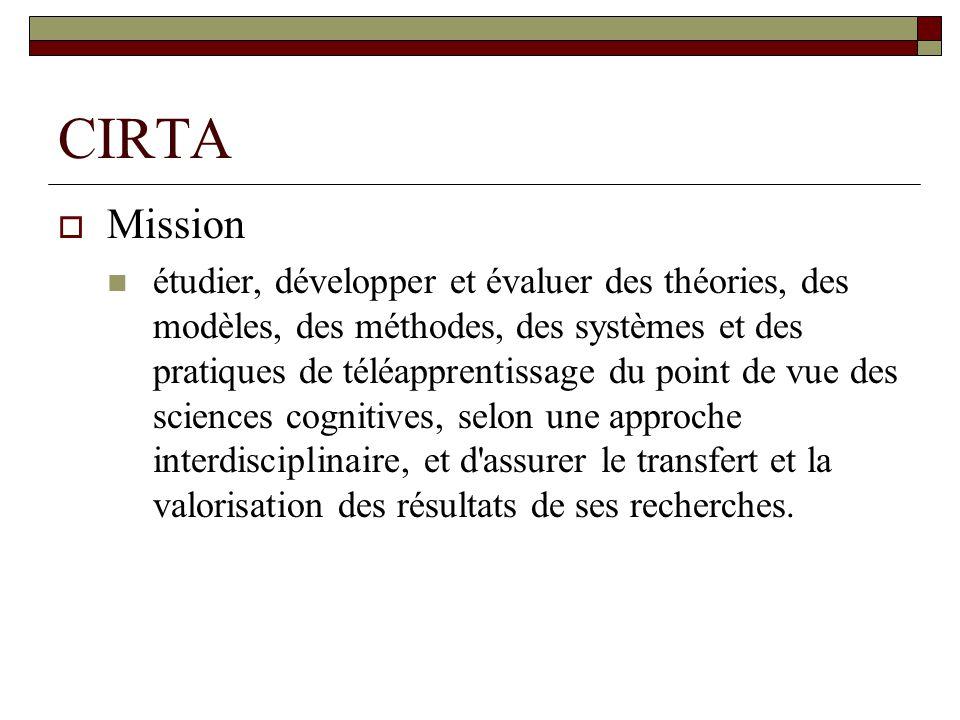 CIRTA Mission.