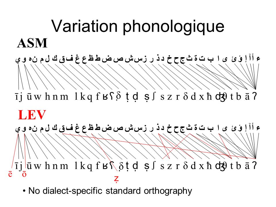 Variation phonologique