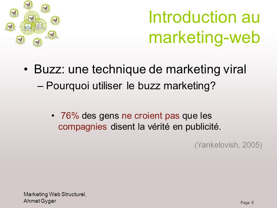 Introduction au marketing-web