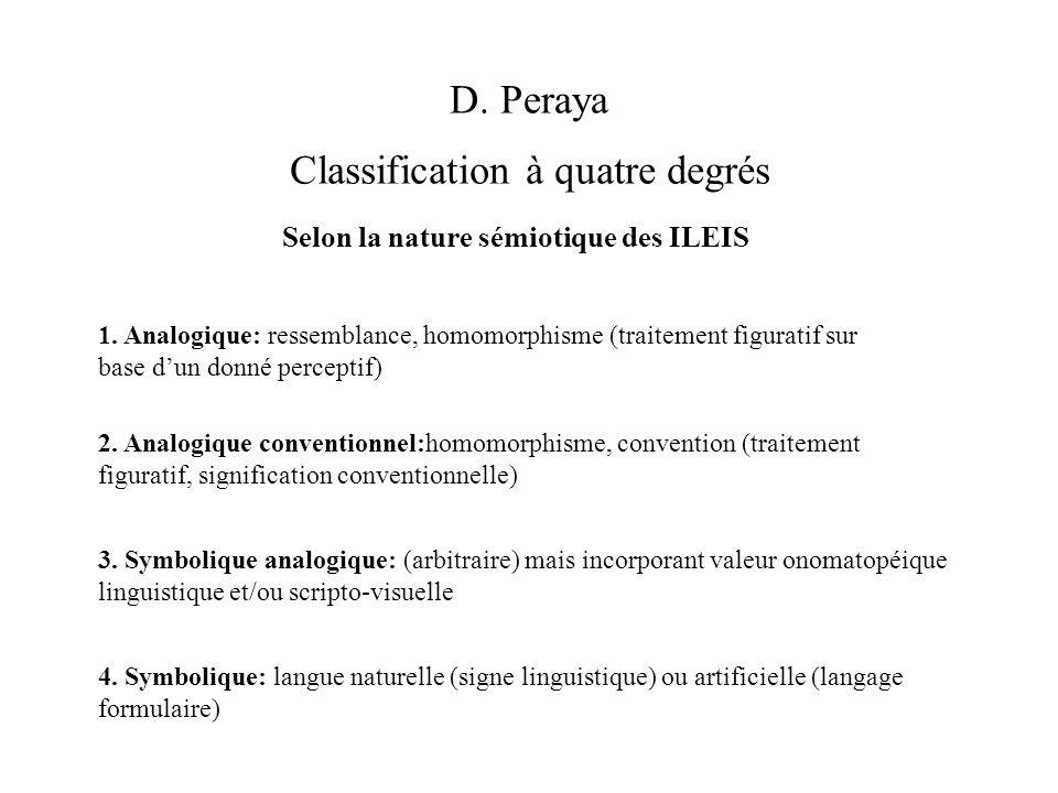 Classification à quatre degrés