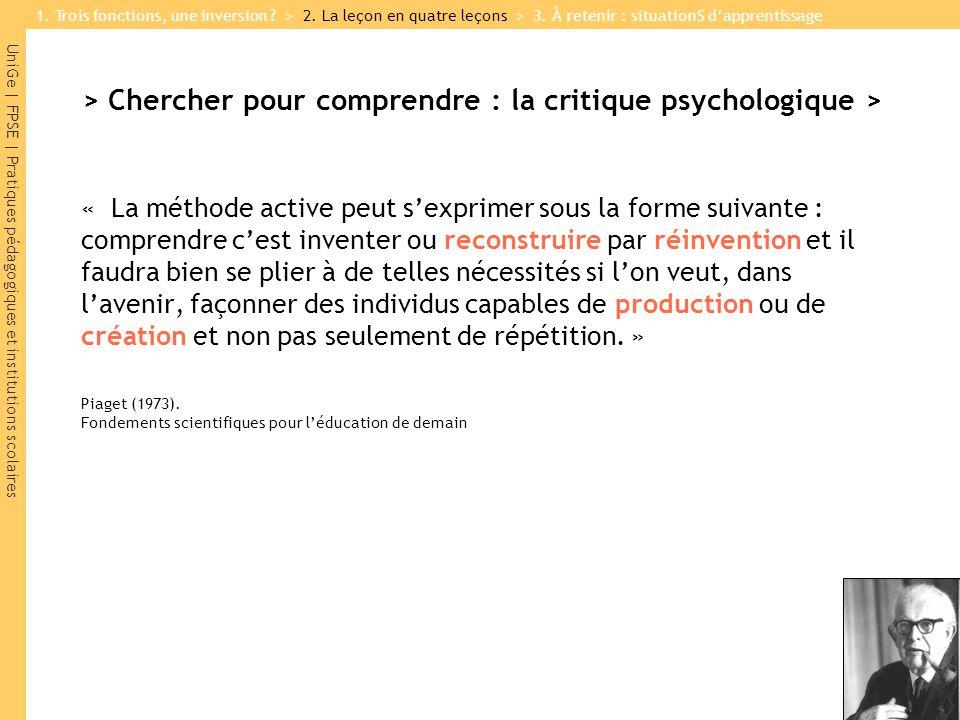 > Chercher pour comprendre : la critique psychologique >
