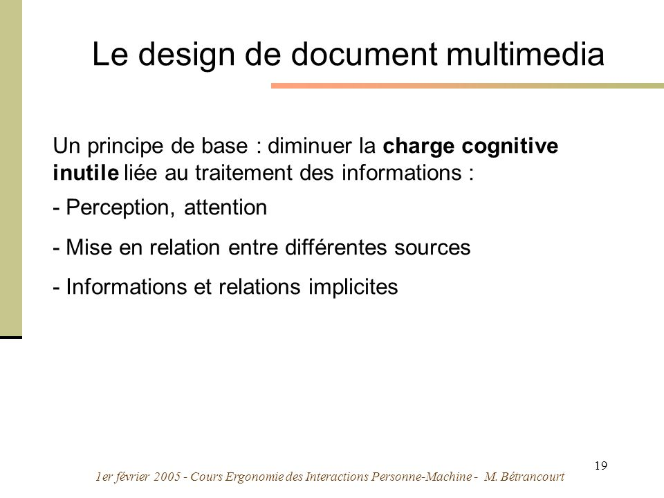 Le design de document multimedia