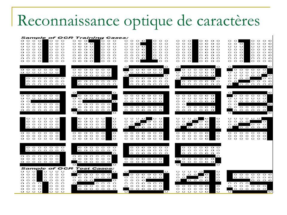 Reconnaissance optique de caractères