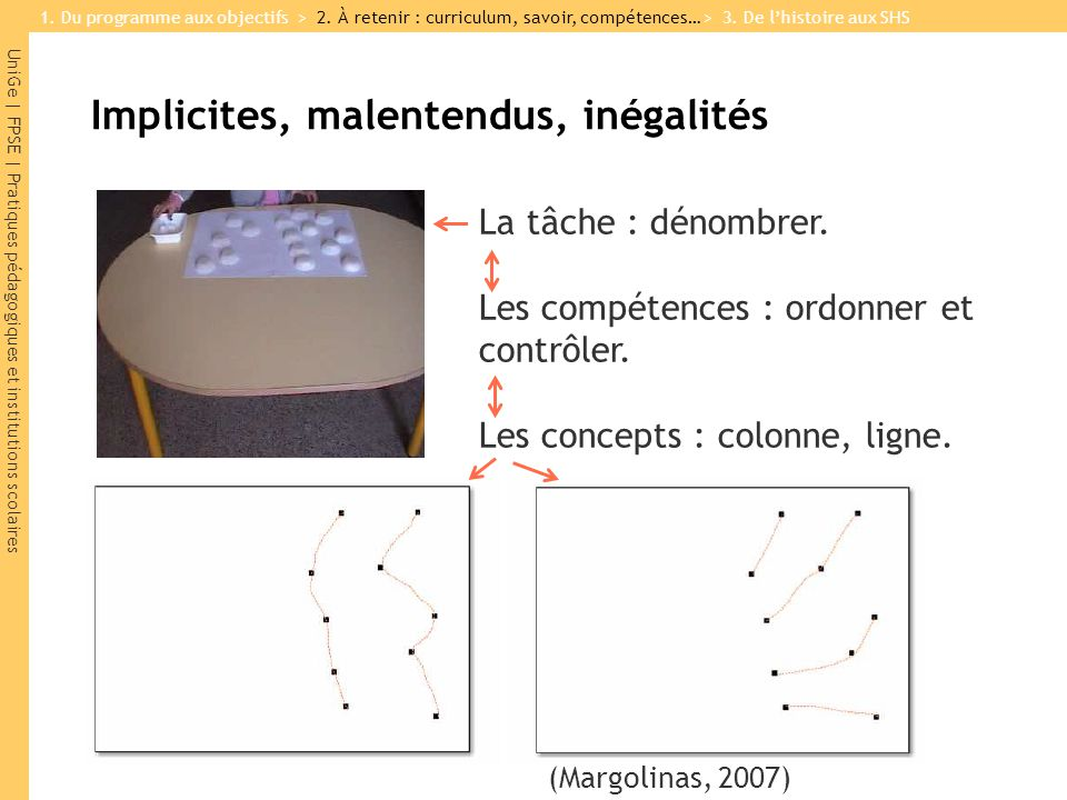 Implicites, malentendus, inégalités