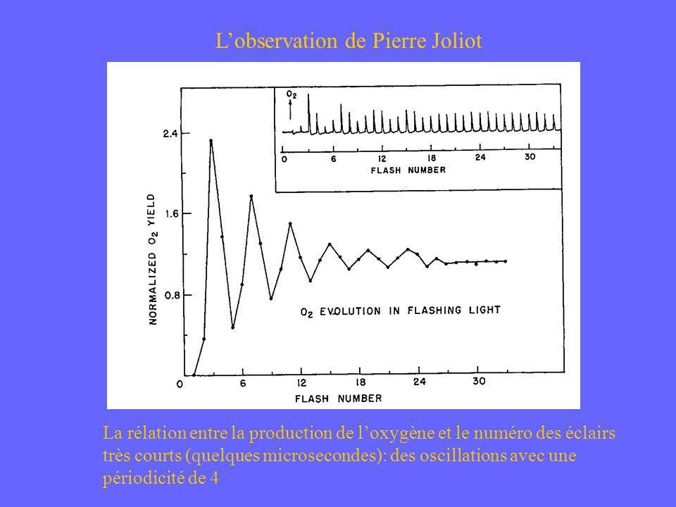 L'observation de Pierre Joliot