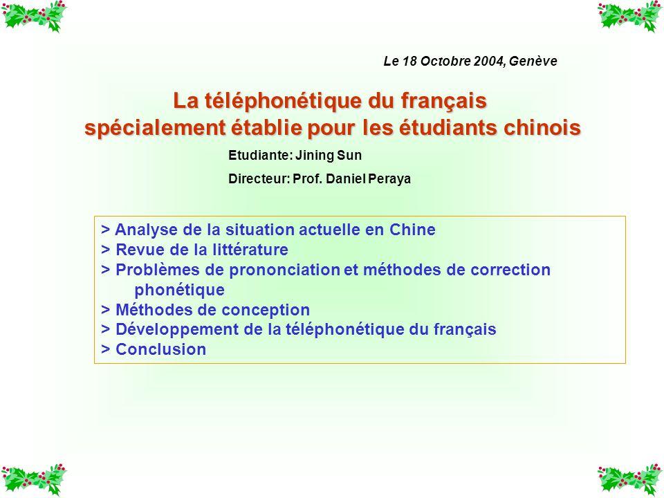 La téléphonétique du français