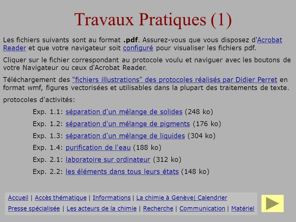 Travaux Pratiques (1)