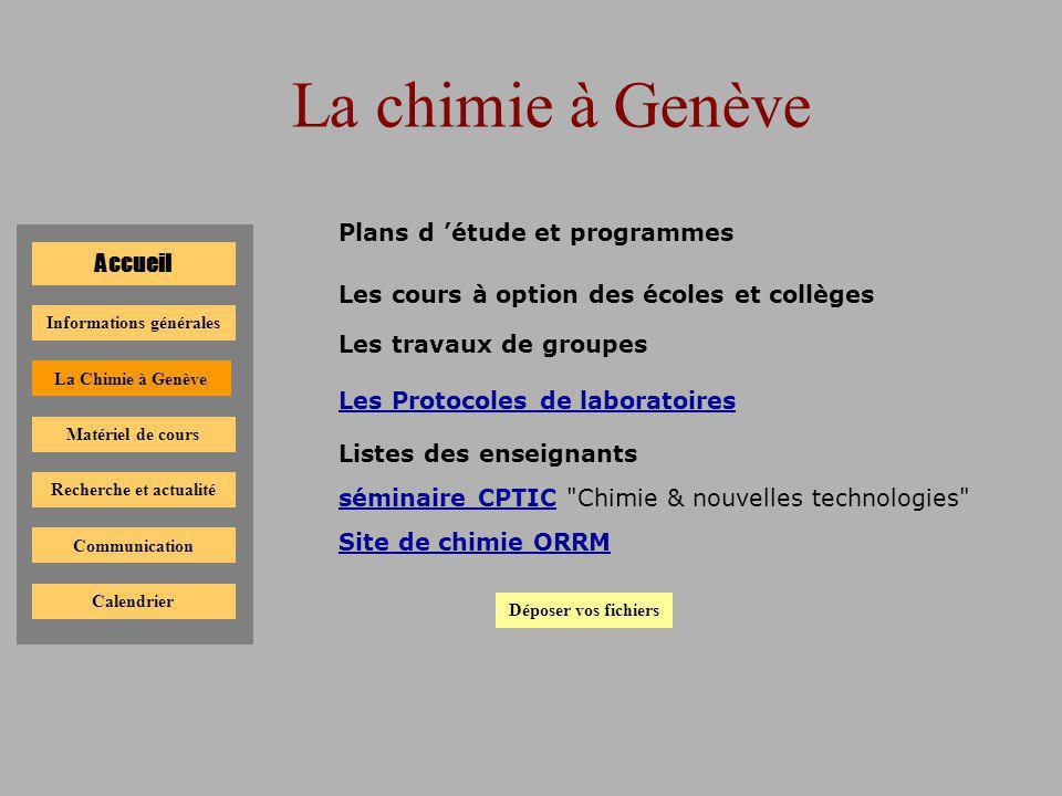 Informations générales Recherche et actualité