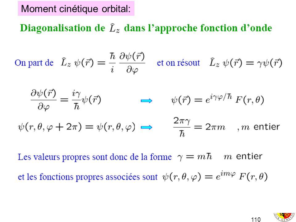 Moment cinétique orbital: