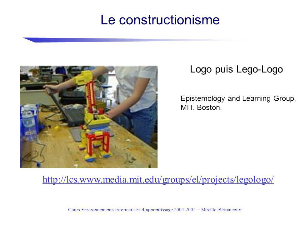 Le constructionisme Logo puis Lego-Logo