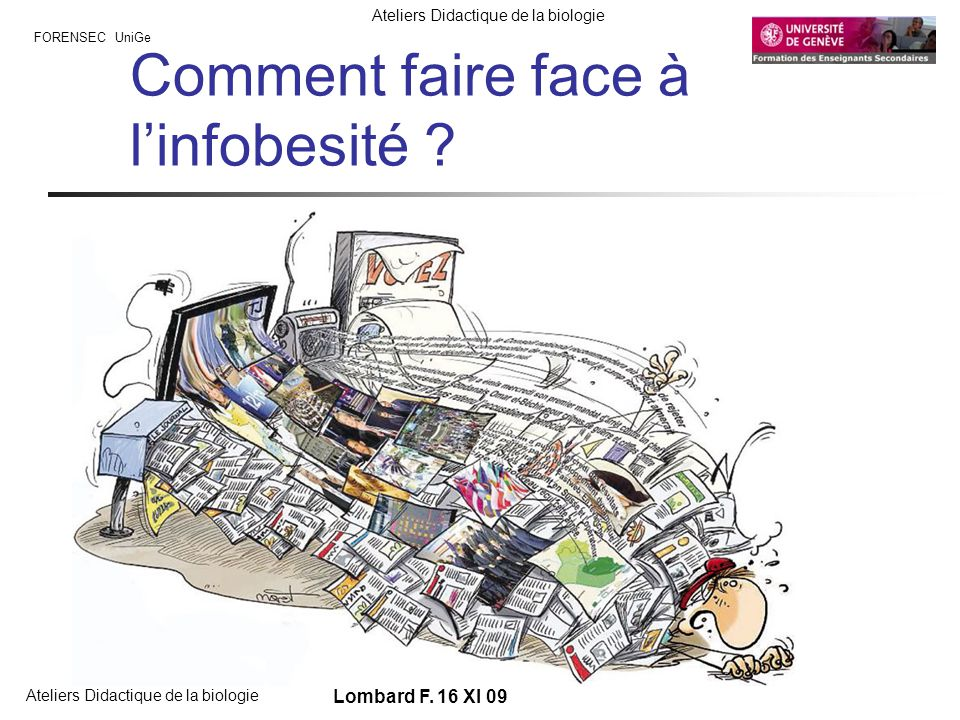 Comment faire face à l'infobesité