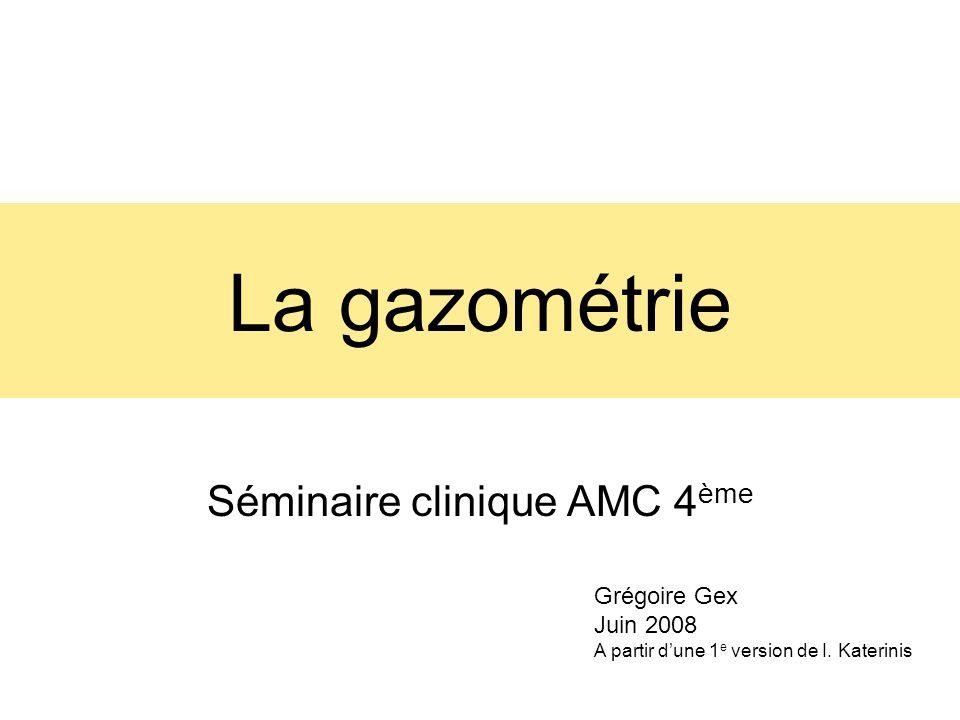 Séminaire clinique AMC 4ème